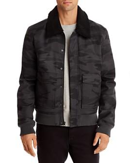 Mills Supply - Lodi Sherpa-Collar Bomber Jacket