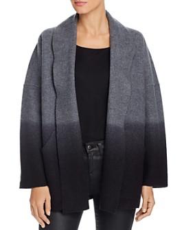 Eileen Fisher Petites - Dip-Dyed Wool Jacket