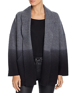 EILEEN FISHER DIP-DYED WOOL JACKET
