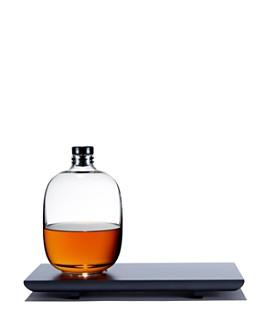 Nude Glass - Malt Whisky Bottle & Tray Set