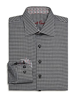 Robert Graham - Boys' Bessemer Houndstooth Dress Shirt - Big Kid