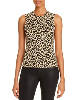 Theory - Leopard-Print Shell