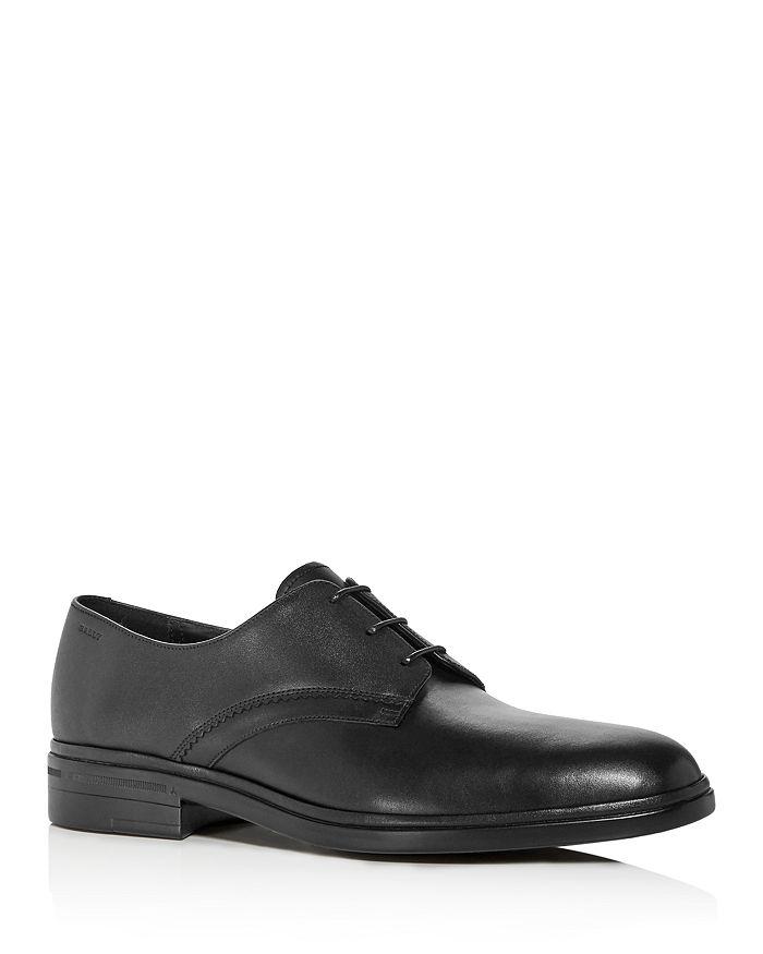 Bally - Men's Nelix Leather Plain-Toe Oxfords