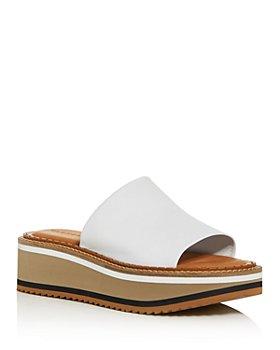 Clergerie - Women's Fast3 Platform Slide Sandals