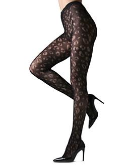 Natori - Leopard-Net Tights