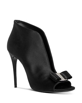 Salvatore Ferragamo - Women's Lara Peep-Toe Pumps