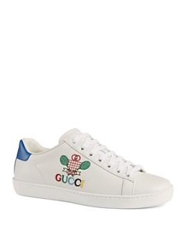 Gucci - Women's Ace Sneakers with Gucci Tennis