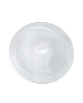 Mariposa - White Alabaster Dessert Plate