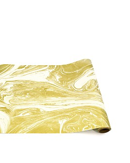 Hester and Cook - Gold Marble Table Runner