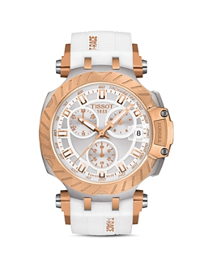Tissot T-Race Chronograph, 43mm-Jewelry & Accessories