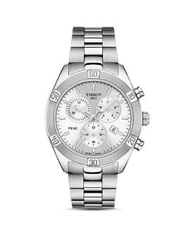 Tissot - PR 100 Sport Chic Link Bracelet Chronograph, 38mm