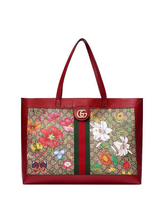 Gucci - Ophidia GG Flora Medium Tote