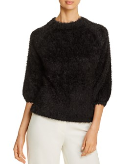 NIC and ZOE - Metallic Fuzzy Sweater