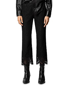 Zadig & Voltaire - Posh Lace Cropped Pants