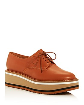 Clergerie - Women's Berlin Lace-Up Platform Loafers