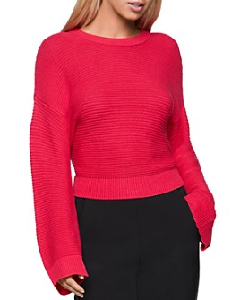 BCBGENERATION - Drop-Shoulder Cropped Sweater