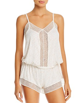 Eberjey - Sweet Heart Dreamer Romper - 100% Exclusive