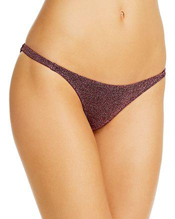 Caroline Constas - Mykela Shimmer Bikini Bottom