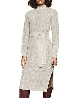 REISS - April Belted Sweater Dress