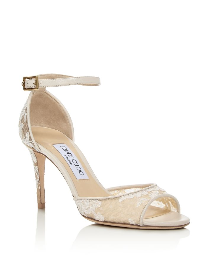 Jimmy Choo Women's Annie 85 Ankle-Strap Pumps - 100% Exclusive  | Bloomingdale's