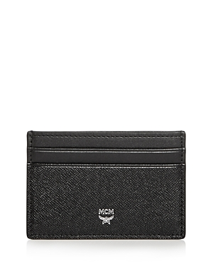 Mcm Bric Saffiano Leather Card Case-Men