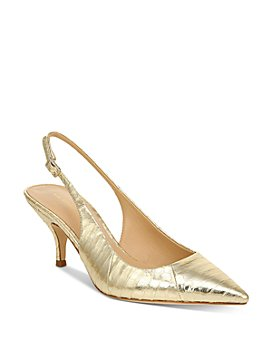 Via Spiga - Women's Madalie Kitten Heel Slingback Pumps