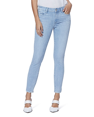 Paige Verdugo Ankle Jeans in Icicle Distressed