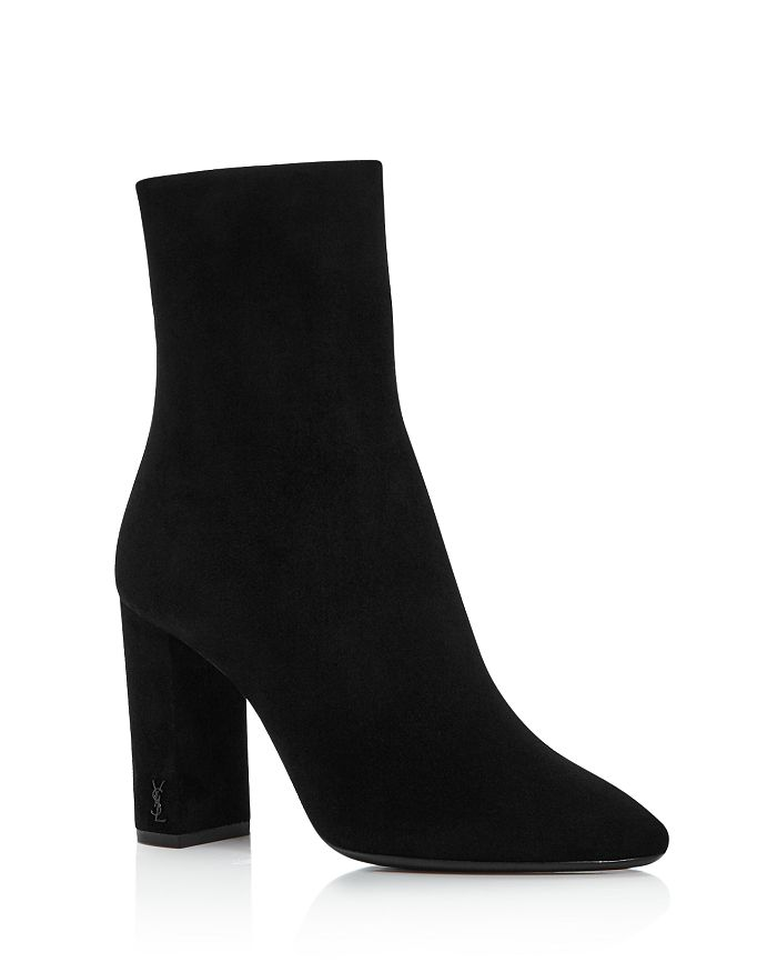 Saint Laurent - Women's Lou Block Heel Booties