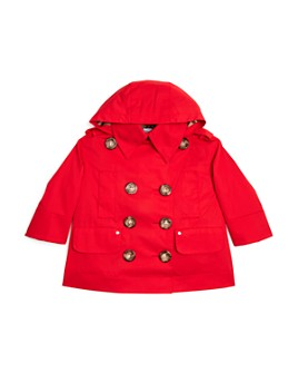 Burberry - Girls' Merel Hooded Trench Coat - Little Kid, Big Kid