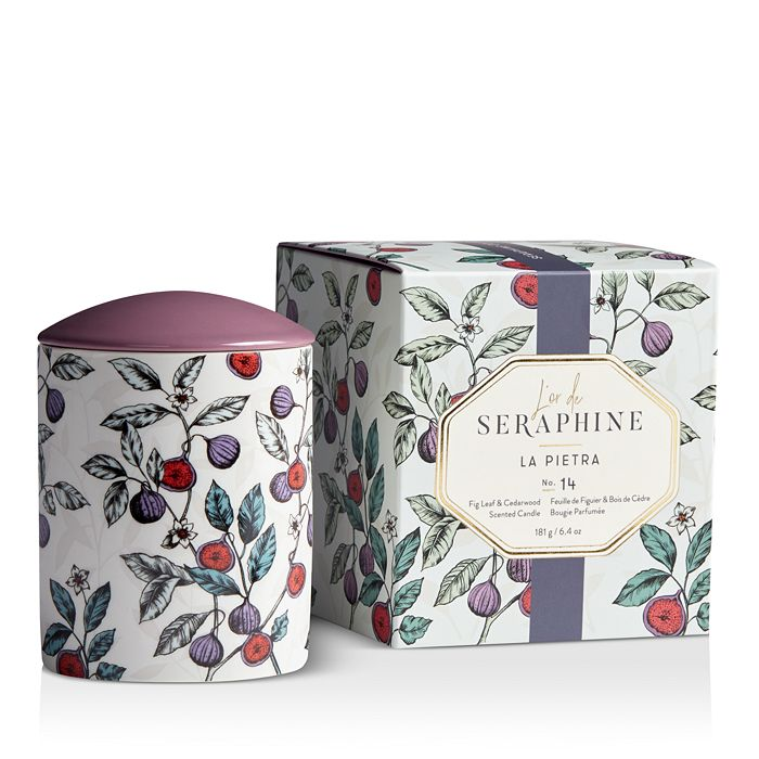 L'or de Seraphine - La Pietra Large Ceramic Candle