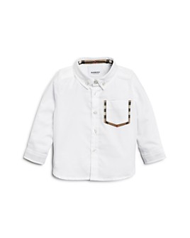 Burberry - Boys' Harry Button-Down Oxford Shirt - Baby