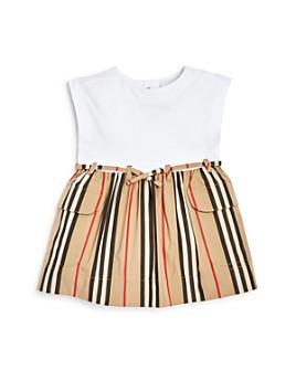 Burberry - Girls' Ramona Icon Stripe Dress - Baby