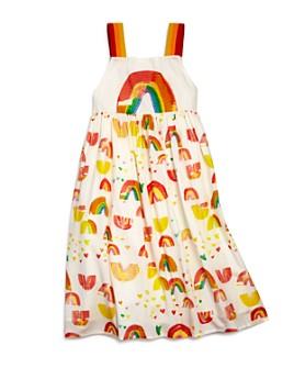 Stella McCartney - Girls' Rainbow Print Dress - Little Kid, Big Kid