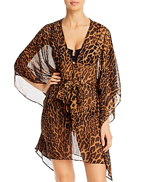 Ralph Lauren Dresses OCELOT DRESS SWIM COVER-UP