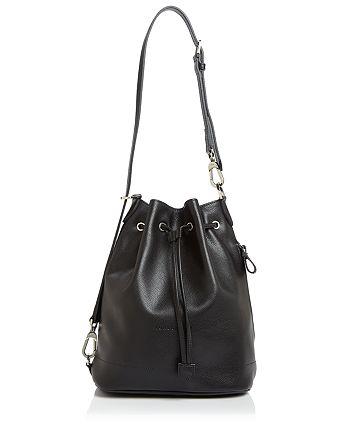 Le Foulonné Large Bucket Bag
