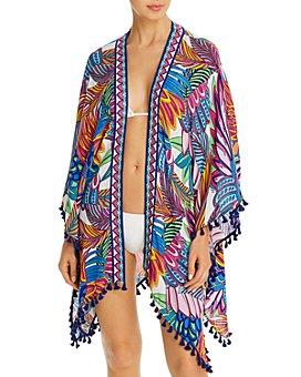 Trina Turk - Paradise Plume Kimono Swim Cover-Up
