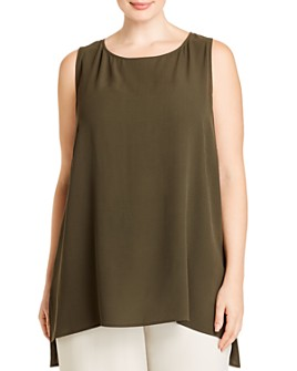Eileen Fisher Plus - High/Low Tunic Tank