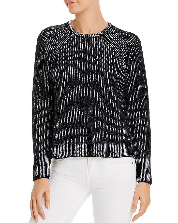 Eileen Fisher Petites - Ribbed Organic Cotton Sweater