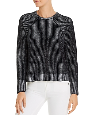 Eileen Fisher Sweaters RIBBED ORGANIC COTTON SWEATER
