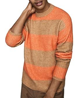 REISS - Frazer Rugby-Stripe Sweater