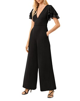 FRENCH CONNECTION - Tobina Wide-Leg Ponté Jumpsuit