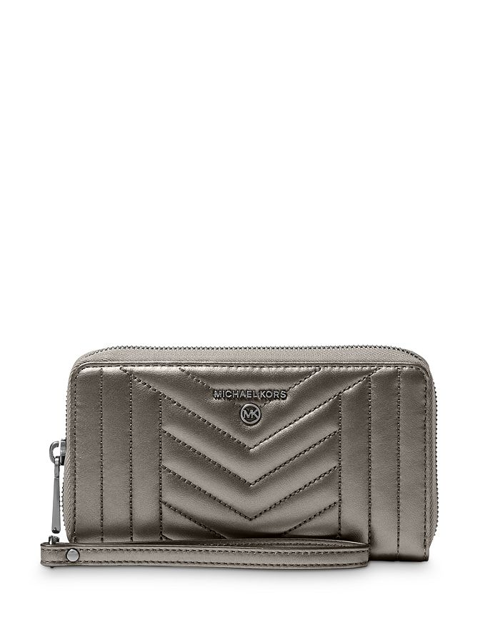MICHAEL Michael Kors - Jet Set Large Phone Wristlet Wallet