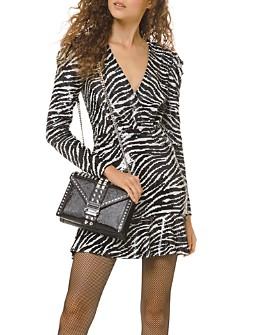 MICHAEL Michael Kors - Sequined Tiger Mini Dress