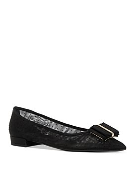 Salvatore Ferragamo - Women's Pointed-Toe Mesh Flats