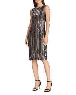 Ralph Lauren - Striped Sequin Dress