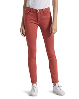 Current/Elliott - The Ankle Skinny Stiletto Jeans in Washed Berry
