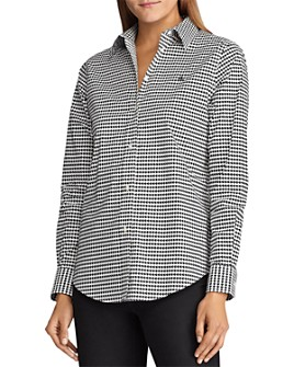 Ralph Lauren - Printed Button-Down Top