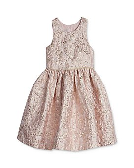 Pippa & Julie - Girls' Floral Brocade Dress - Baby