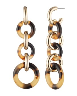 Ralph Lauren - Circle Link Linear Earrings