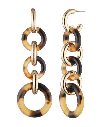 Ralph Lauren - Circle Link Linear Earrings